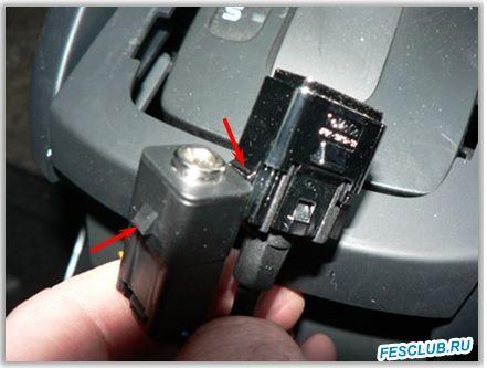 Как подтянуть отрегулировать ручник? - USB и AUX - снято.jpg
