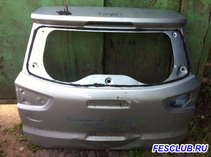 1808721 Задняя дверь багажник Ecosport - bagaznik.JPG